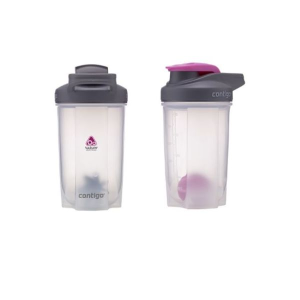 Contigo Shake & Go Fit Medium beker met shakerbal kunststof 590 ml